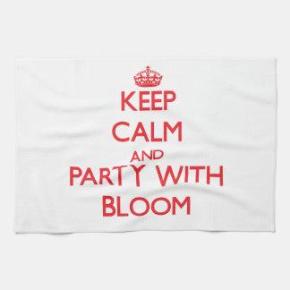 Guarde la calma y vaya de fiesta con la floración