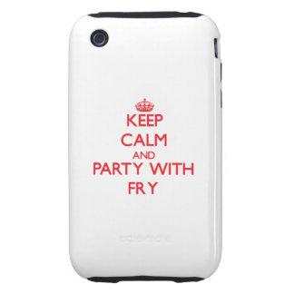Guarde la calma y vaya de fiesta con la fritada iPhone 3 tough protector