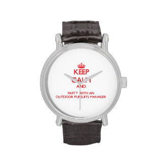 Guarde la calma y vaya de fiesta con las búsquedas relojes