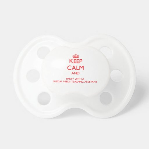 Guarde la calma y vaya de fiesta con las necesidad chupetes para bebés