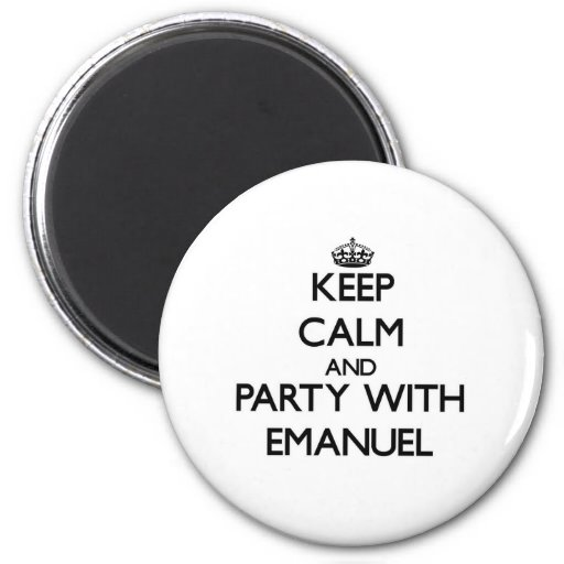 Guarde la calma y vaya de fiesta con Manuel Imanes
