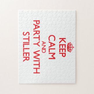 Guarde la calma y vaya de fiesta con más inmóvil puzzles con fotos