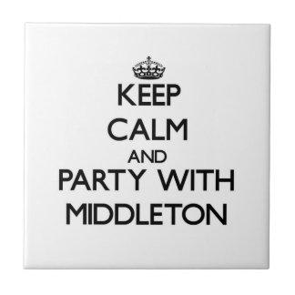 Guarde la calma y vaya de fiesta con Middleton
