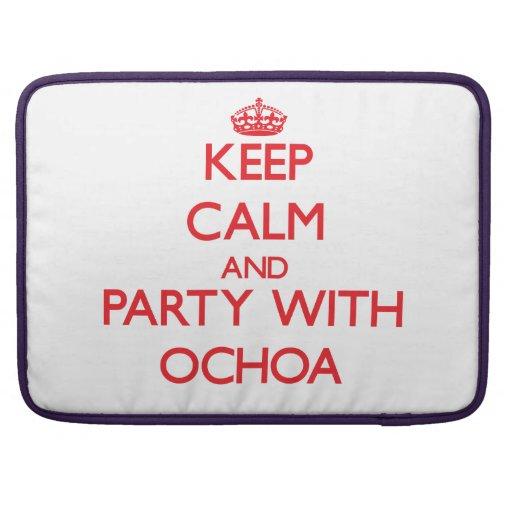 Guarde la calma y vaya de fiesta con Ochoa Fundas Para Macbook Pro