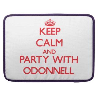 Guarde la calma y vaya de fiesta con Odonnell Fundas Macbook Pro