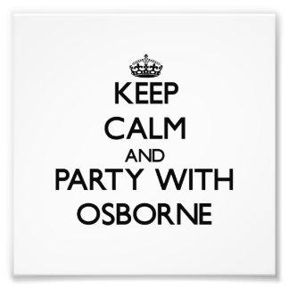 Guarde la calma y vaya de fiesta con Osborne