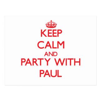 Guarde la calma y vaya de fiesta con Paul
