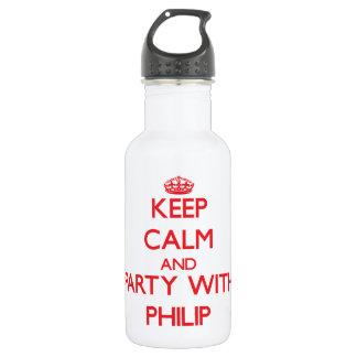 Guarde la calma y vaya de fiesta con Philip