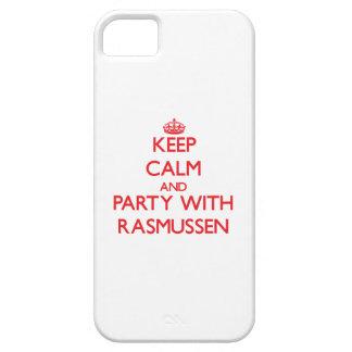 Guarde la calma y vaya de fiesta con Rasmussen iPhone 5 Cobertura