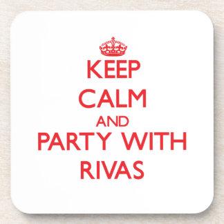 Guarde la calma y vaya de fiesta con Rivas Posavasos