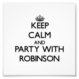 Guarde la calma y vaya de fiesta con Robinson Fotografias
