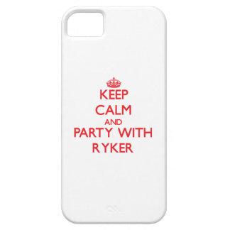 Guarde la calma y vaya de fiesta con Ryker iPhone 5 Case-Mate Cárcasa