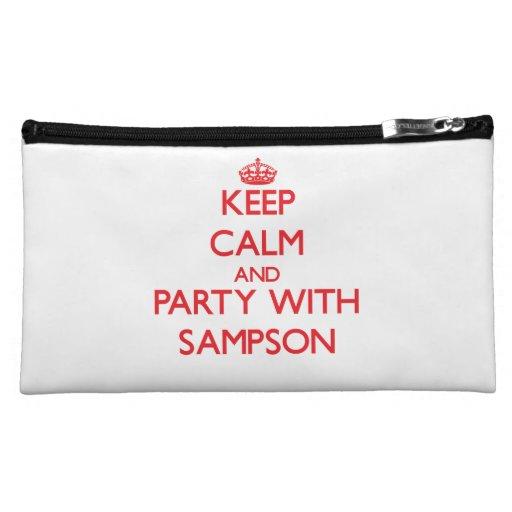 Guarde la calma y vaya de fiesta con Sampson