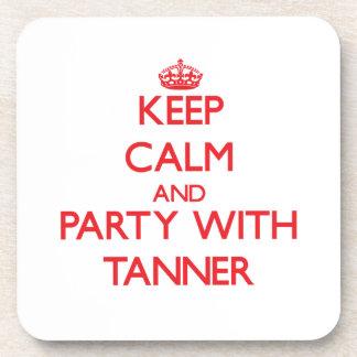 Guarde la calma y vaya de fiesta con Tanner