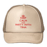 Guarde la calma y vaya de fiesta con Tina Gorro