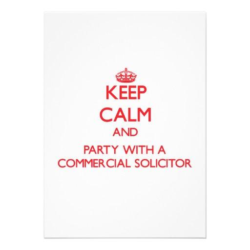 Guarde la calma y vaya de fiesta con un abogado co anuncios personalizados