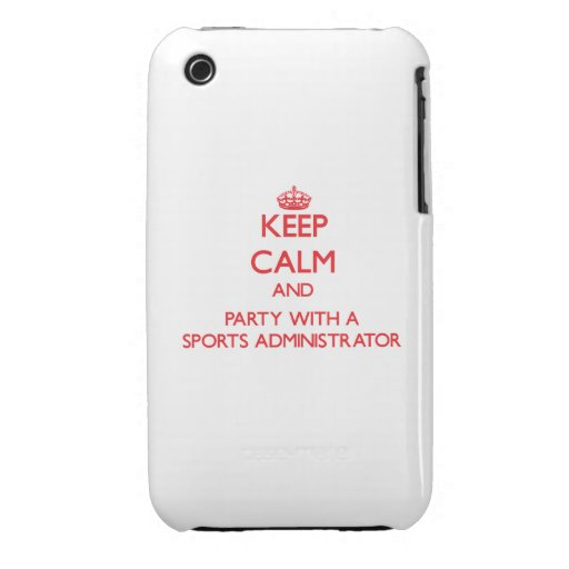 Guarde la calma y vaya de fiesta con un administra iPhone 3 Case-Mate protectores