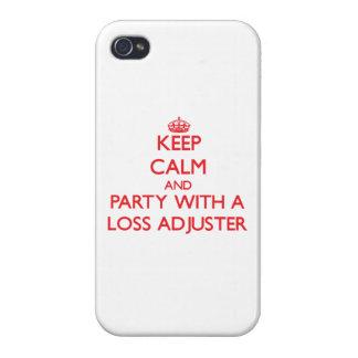 Guarde la calma y vaya de fiesta con un ajustador  iPhone 4 funda