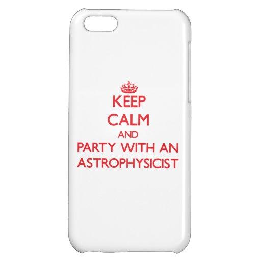 Guarde la calma y vaya de fiesta con un astrofísic