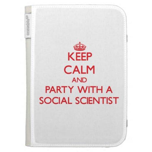 Guarde la calma y vaya de fiesta con un científico