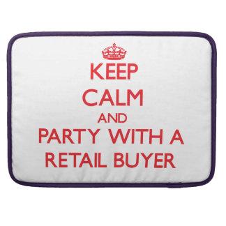 Guarde la calma y vaya de fiesta con un comprador funda macbook pro