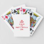 Guarde la calma y vaya de fiesta con un Cpa Cartas De Juego