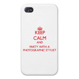 Guarde la calma y vaya de fiesta con un estilista  iPhone 4/4S fundas