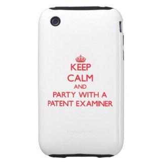 Guarde la calma y vaya de fiesta con un examinador iPhone 3 tough protector