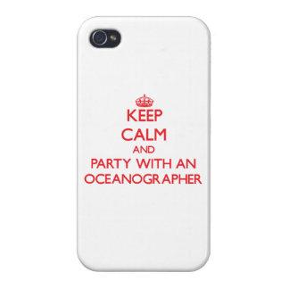 Guarde la calma y vaya de fiesta con un oceanógraf iPhone 4 coberturas