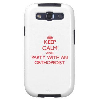 Guarde la calma y vaya de fiesta con un ortopedist galaxy s3 cárcasas