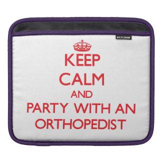 Guarde la calma y vaya de fiesta con un ortopedist fundas para iPads