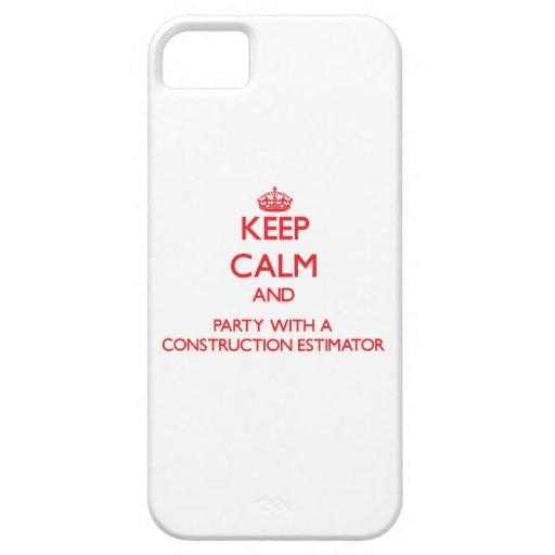 Guarde la calma y vaya de fiesta con un perito de iPhone 5 carcasa