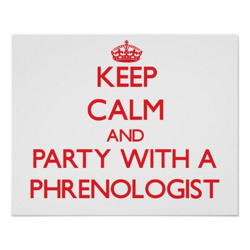 Guarde la calma y vaya de fiesta con un Phrenologi Impresiones