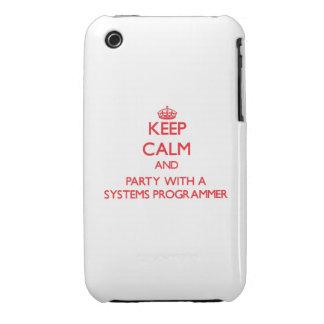 Guarde la calma y vaya de fiesta con un programado iPhone 3 Case-Mate fundas