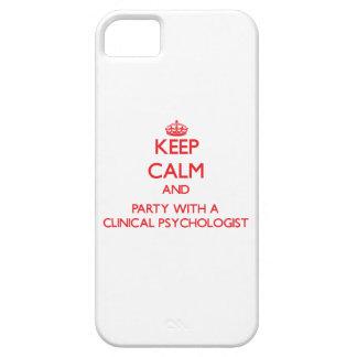 Guarde la calma y vaya de fiesta con un psicólogo  iPhone 5 funda