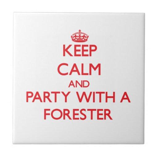 Guarde la calma y vaya de fiesta con un silviculto tejas
