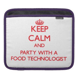Guarde la calma y vaya de fiesta con un tecnólogo  funda para iPads