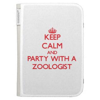 Guarde la calma y vaya de fiesta con un zoologista