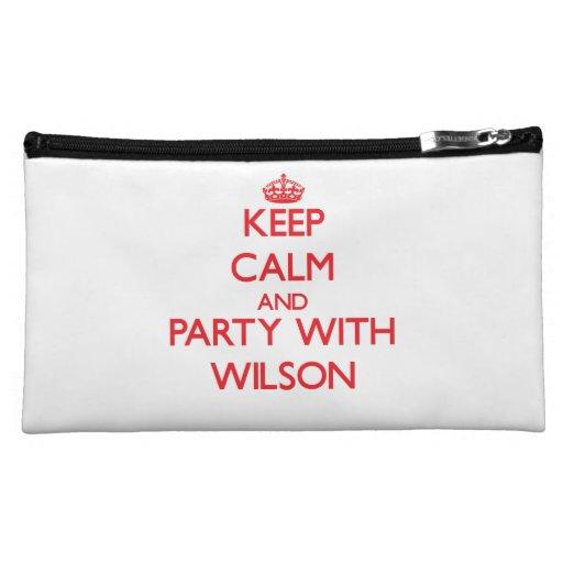 Guarde la calma y vaya de fiesta con Wilson