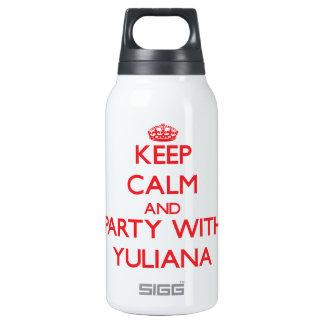 Guarde la calma y vaya de fiesta con Yuliana