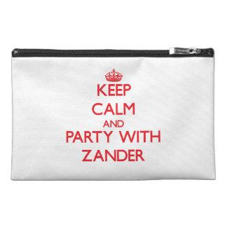 Guarde la calma y vaya de fiesta con Zander