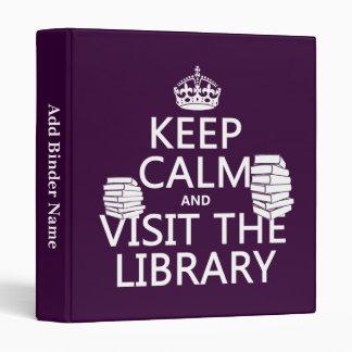 """Guarde la calma y visite la biblioteca - en cualqu carpeta 1"""""""