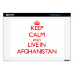 Guarde la calma y viva en Afganistán Skins Para Acer Chromebook