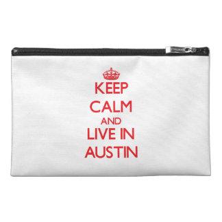 Guarde la calma y viva en Austin