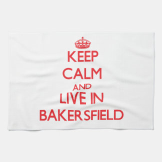 Guarde la calma y viva en Bakersfield
