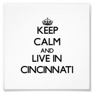 Guarde la calma y viva en Cincinnati
