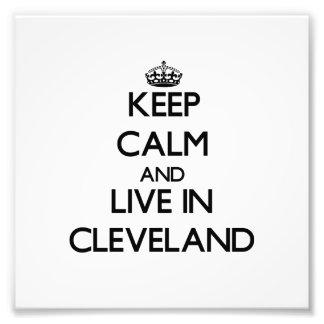 Guarde la calma y viva en Cleveland