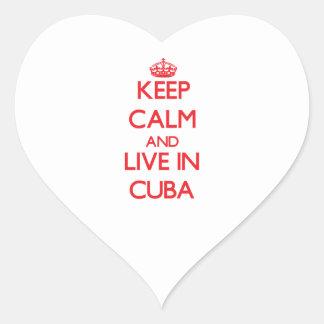 Guarde la calma y viva en Cuba