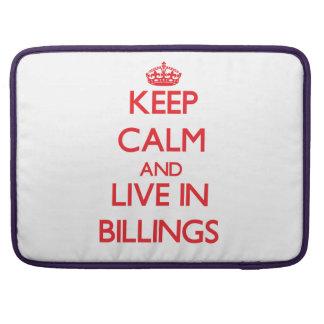 Guarde la calma y viva en facturaciones funda macbook pro
