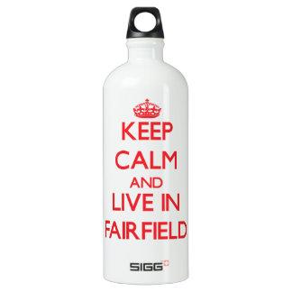 Guarde la calma y viva en Fairfield